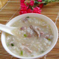 猪肝粉肠粥