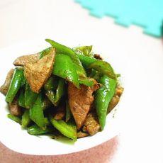 尖椒炒猪肝