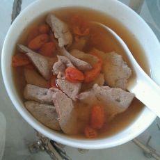 明目猪肝枸杞汤