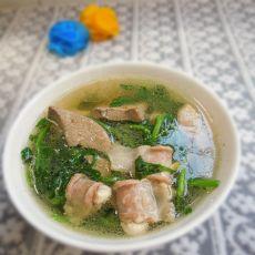 西洋菜滚瘦肉粉肠汤