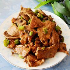 小米辣炒猪肝的做法