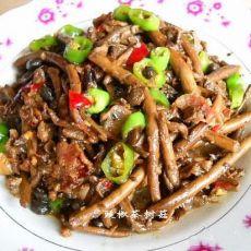 豉椒茶树菇