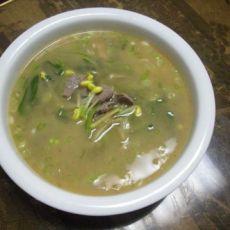 猪肝豆芽汤
