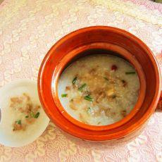 瓦煲煲鱼泥粥的做法