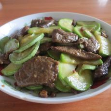 西葫芦猪肝片