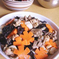 红萝卜煸猪肝