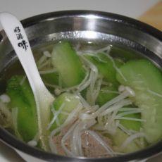 丝瓜猪肝汤