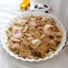 干炒葱香猪肝