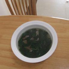 猪肝煲枸杞汤