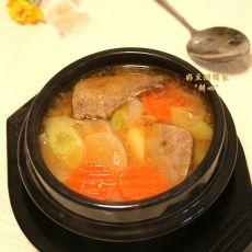 猪肝大酱汤