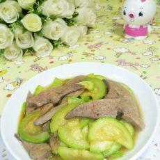西葫芦炒猪肝