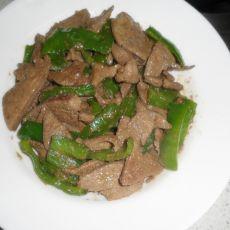 青椒炒肝尖