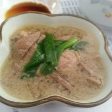 猪肝瘦肉汤