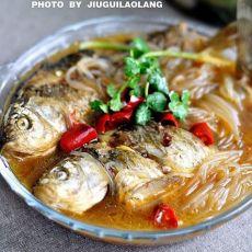 鲫鱼炖粉条