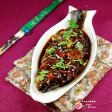 香辣焖鲫鱼的做法