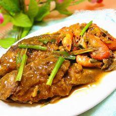 河虾烧鲫鱼-下酒菜