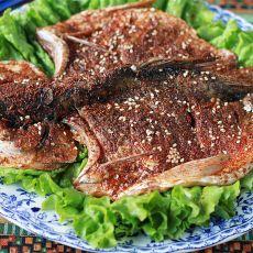 孜然辣子烤鱼的做法