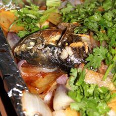 土豆烤鱼的做法