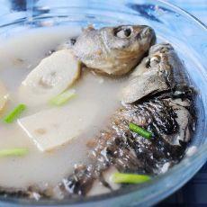 鲫鱼酿肉的做法