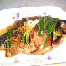 米酒烧鲫鱼