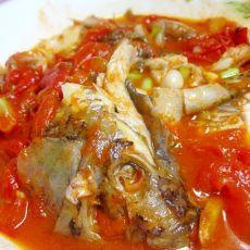 番茄烧鲫鱼的做法