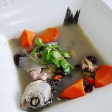 鲫鱼黑豆汤的做法
