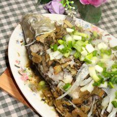 雪菜蒸鱼的做法