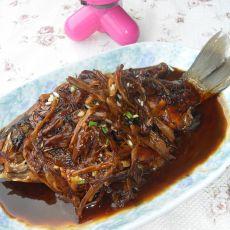 黄花菜烧鲫鱼的做法