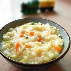 胡萝卜香菇鱼汤粥