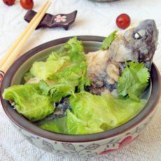 白菜鲫鱼汤的做法