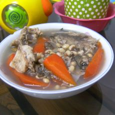 鲫鱼眉豆汤的做法