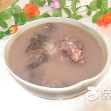红豆鲫鱼猪骨汤的做法
