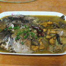 鲫鱼炖白菜
