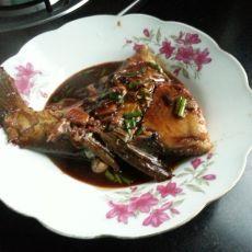 红烧鱼块的做法