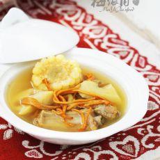 虫草花排骨莲藕汤