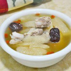 排骨红枣竹笙汤
