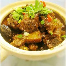 蒜香豆豉香芋排骨煲