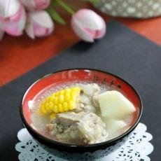 鲜淮山玉米排骨汤