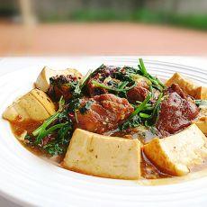 排骨烩豆腐