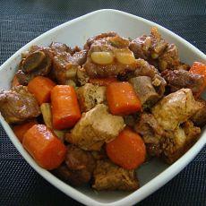 红烧排骨冻豆腐――家常菜