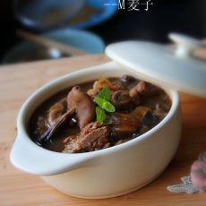 排骨炖蘑菇