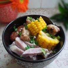 排骨芋头糯米饭