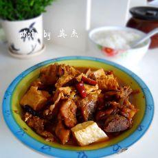 香辣排骨烧豆腐