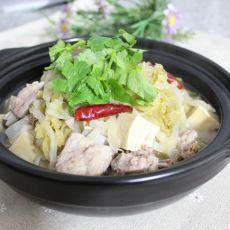 酸菜炖排骨