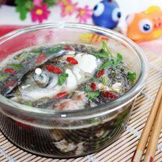 鱼头紫菜蛋花汤