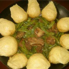 东北菜一锅出—排骨炖豆角