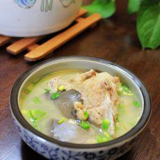 三文鱼排骨汤