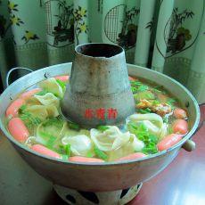 排骨馄饨饺子锅的做法