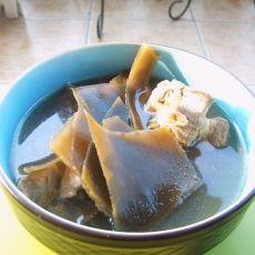 绿豆海带排骨汤