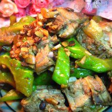 豆豉排骨烧苦瓜的做法